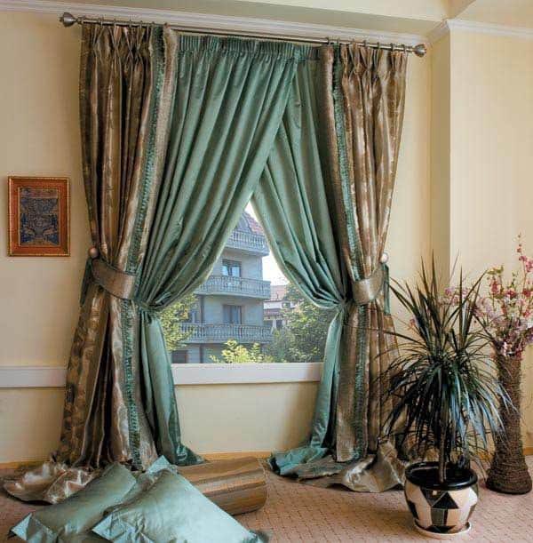 Эксклюзивные шторы для спальни фото