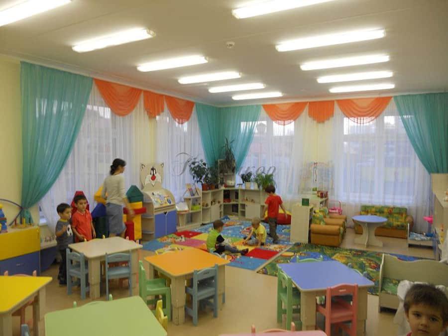 Фото штор 1: садики, Школы и др.