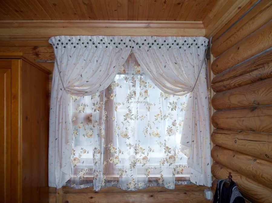 Фото штор 43: гостиная