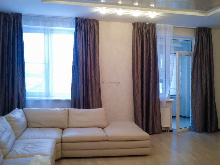 Фото штор 45: гостиная