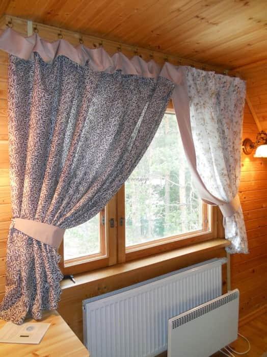 Фото штор 46: гостиная
