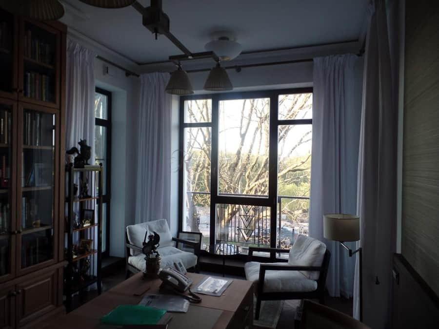 Фото штор 1: гостиная