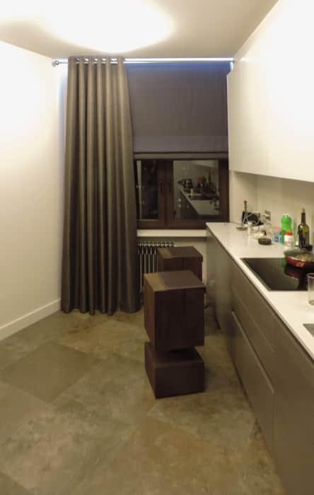 Фото штор 14: кухня