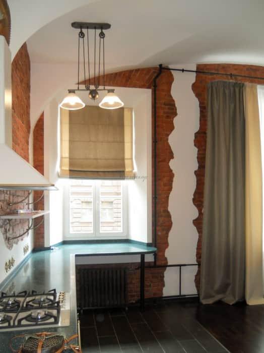 Фото штор 2: кухня