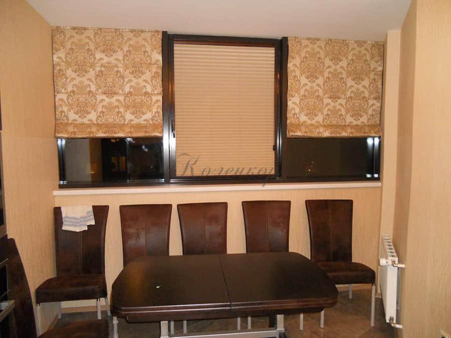 Фото штор 1: кухня