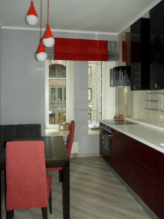 Фото штор 24: кухня