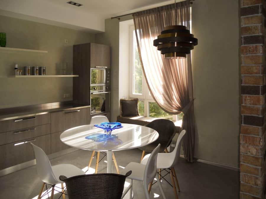Фото штор 3: кухня