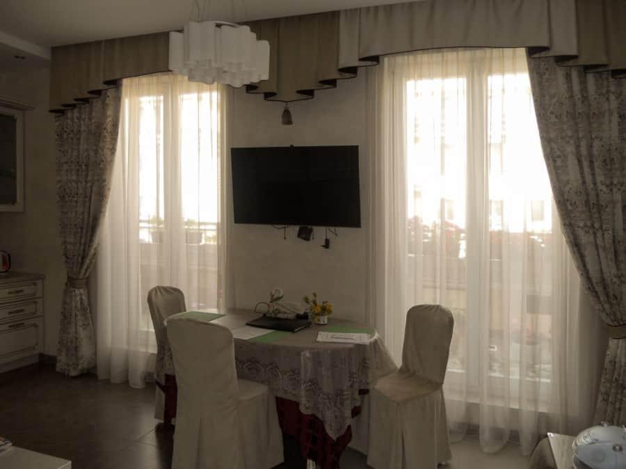 Фото штор 4: кухня