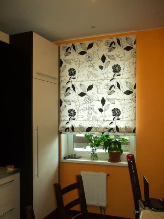 Фото штор 46: кухня