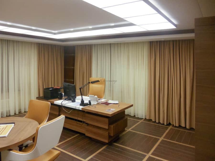 Фото штор 12: кабинеты, офисы, переговорные