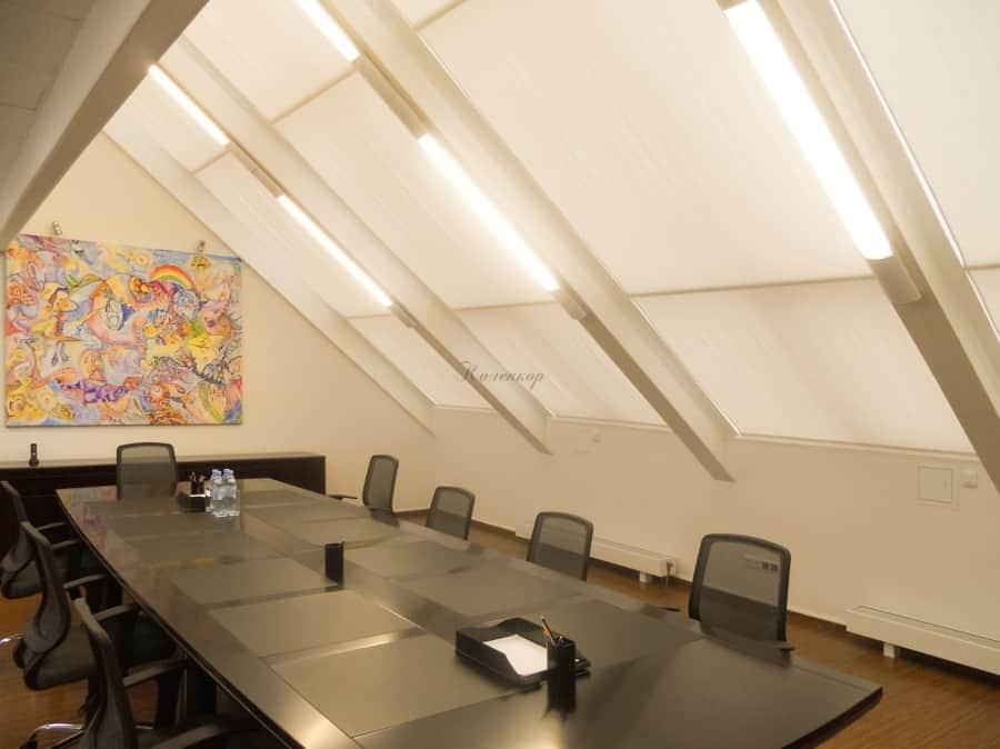 Фото штор 16: кабинеты, офисы, переговорные