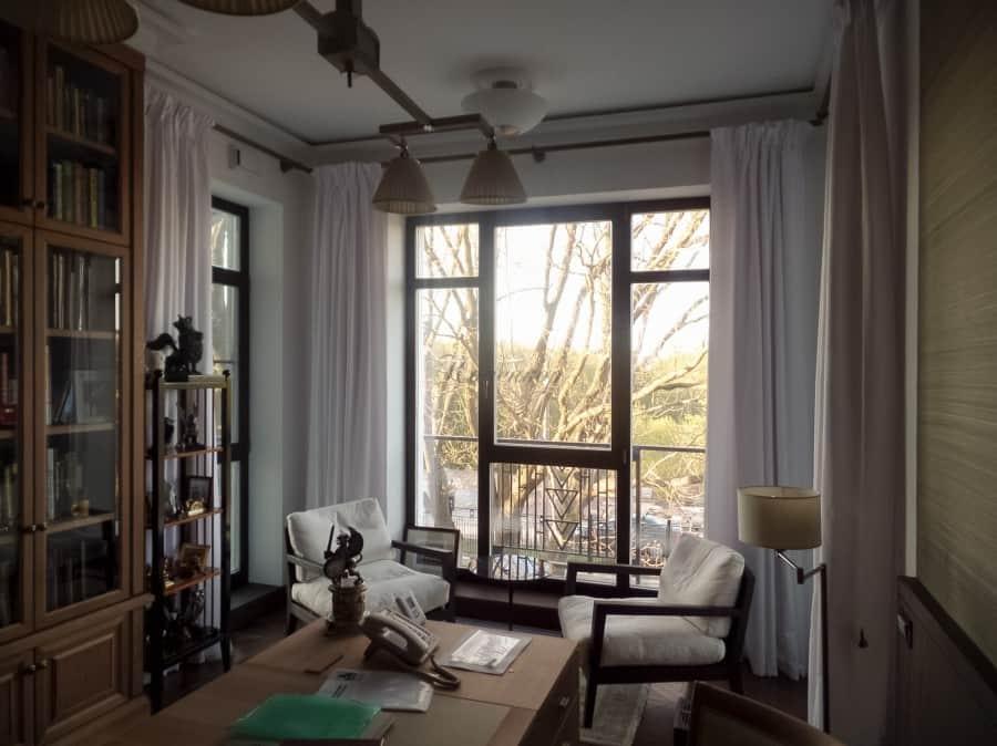 Фото штор 2: кабинеты, офисы, переговорные