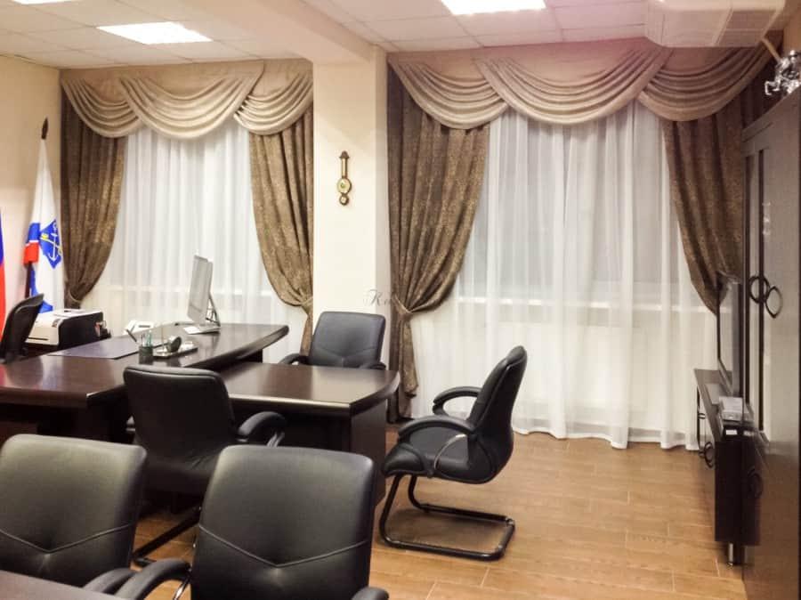 Фото штор 21: кабинеты, офисы, переговорные