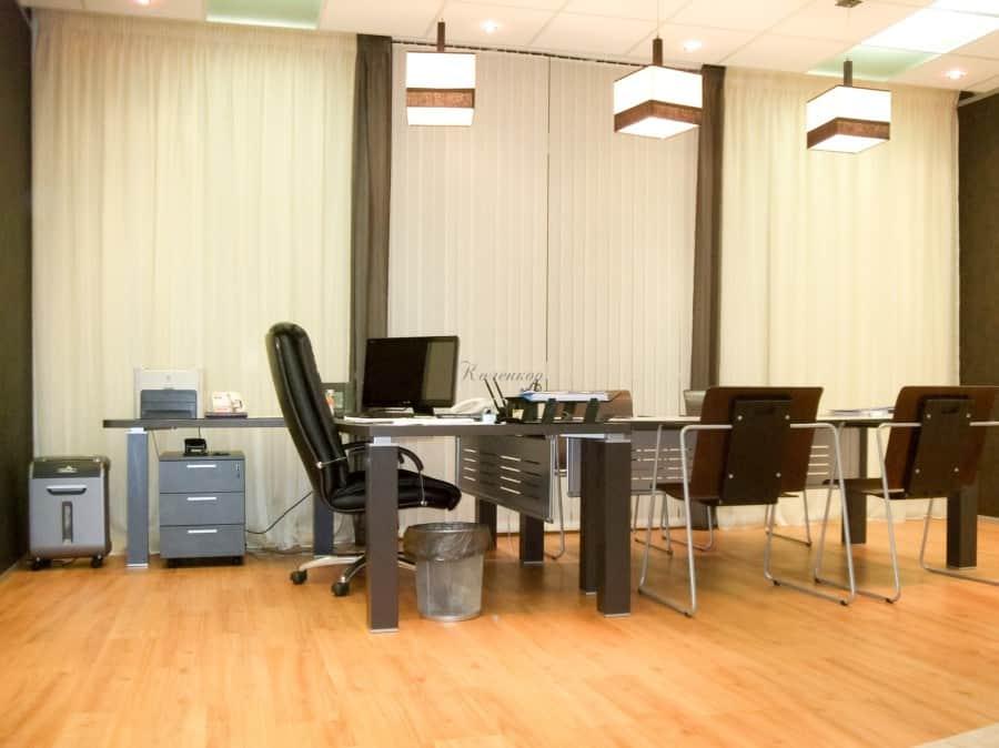 Фото штор 22: кабинеты, офисы, переговорные