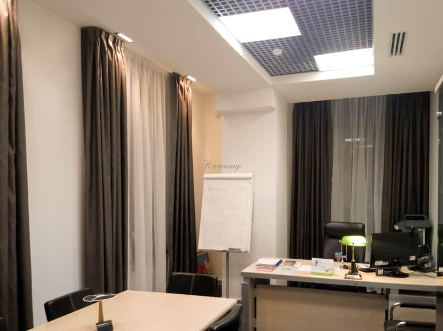 Фото штор 24: кабинеты, офисы, переговорные