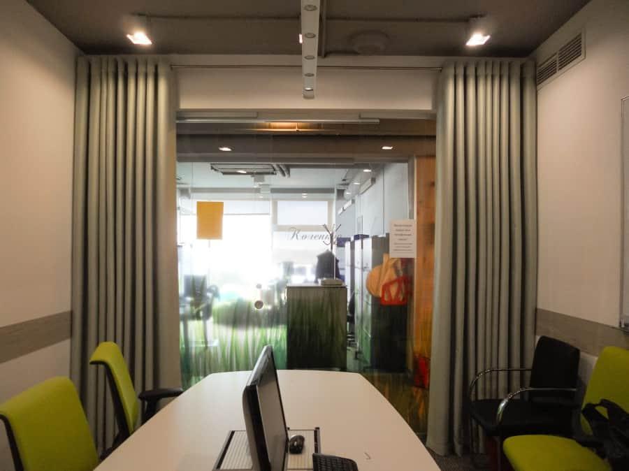 Фото штор 28: кабинеты, офисы, переговорные