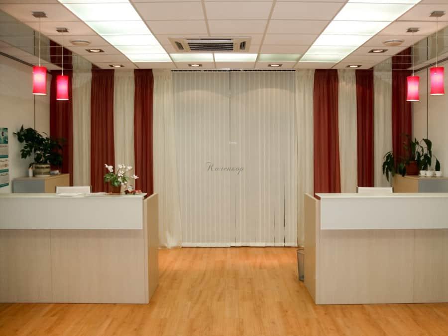 Фото штор 33: кабинеты, офисы, переговорные