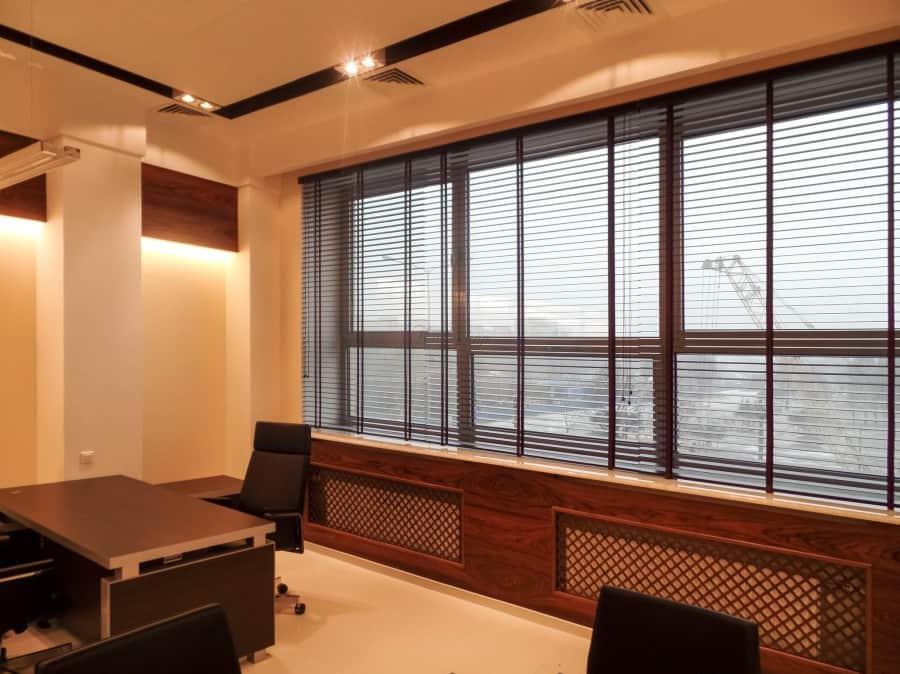 Фото штор 35: кабинеты, офисы, переговорные