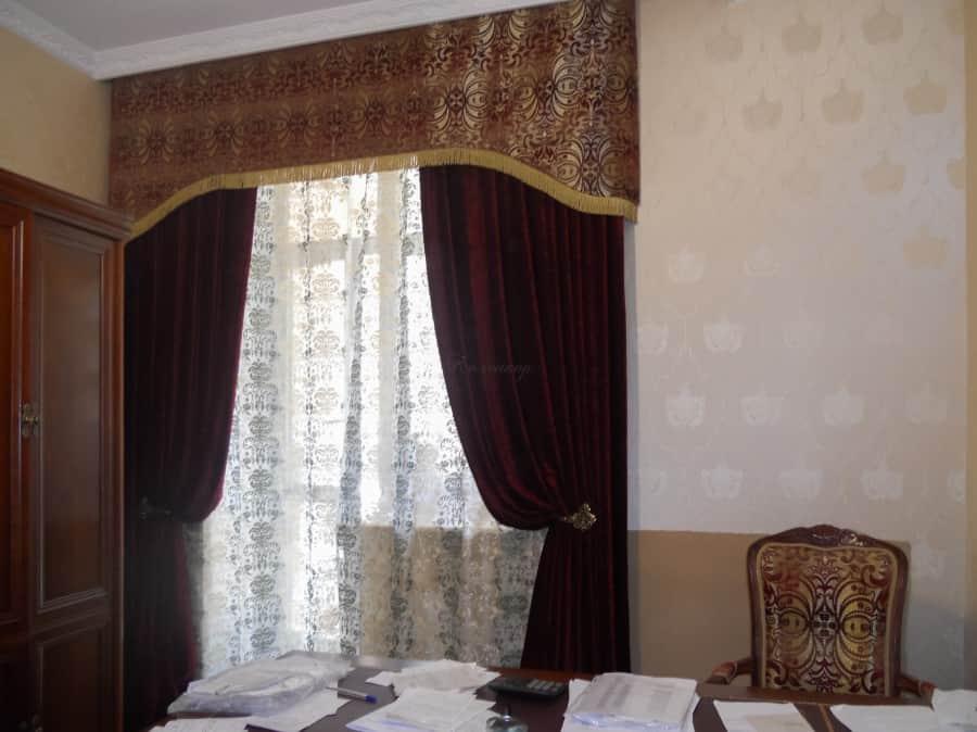 Фото штор 37: кабинеты, офисы, переговорные