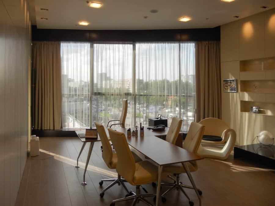 Фото штор 39: кабинеты, офисы, переговорные