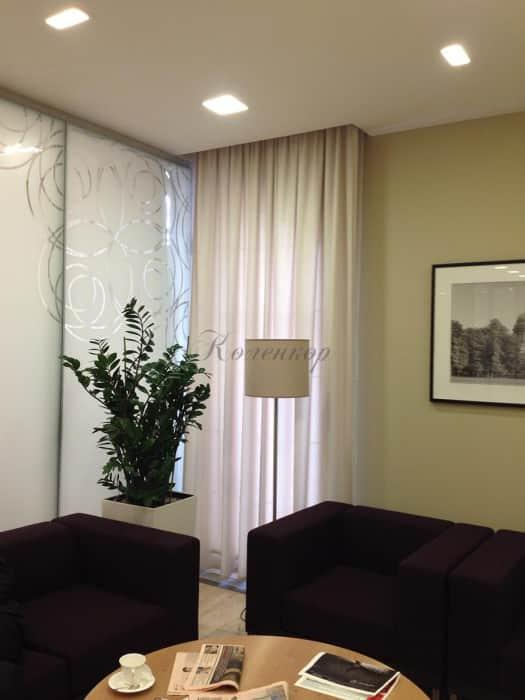 Фото штор 1: кабинеты, офисы, переговорные