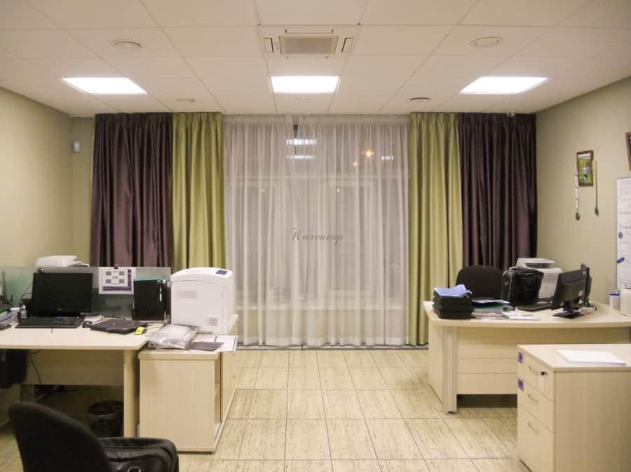 Фото штор 58: кабинеты, офисы, переговорные
