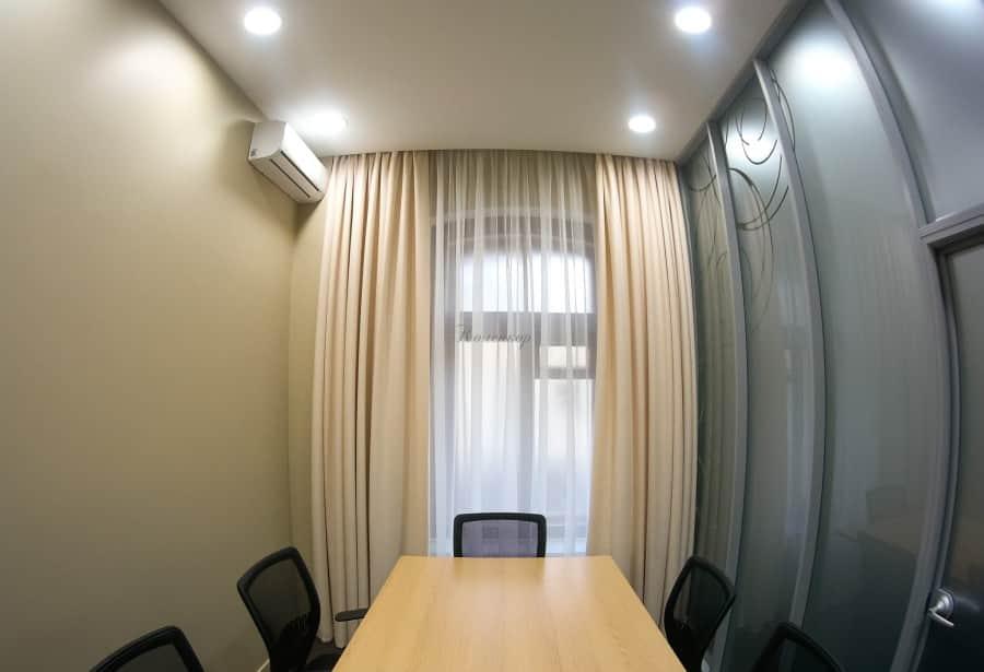 Фото штор 61: кабинеты, офисы, переговорные