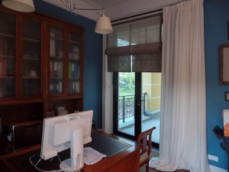 Фото штор 6: кабинеты, офисы, переговорные