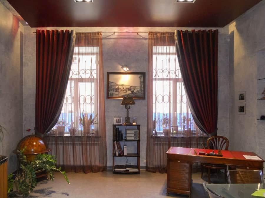 Фото штор 7: кабинеты, офисы, переговорные