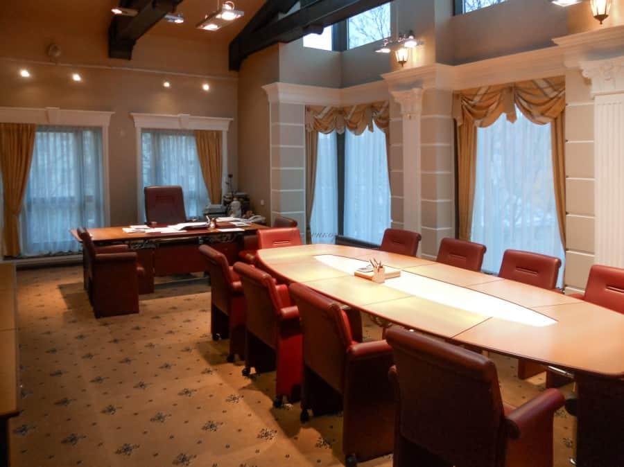 Фото штор 76: кабинеты, офисы, переговорные