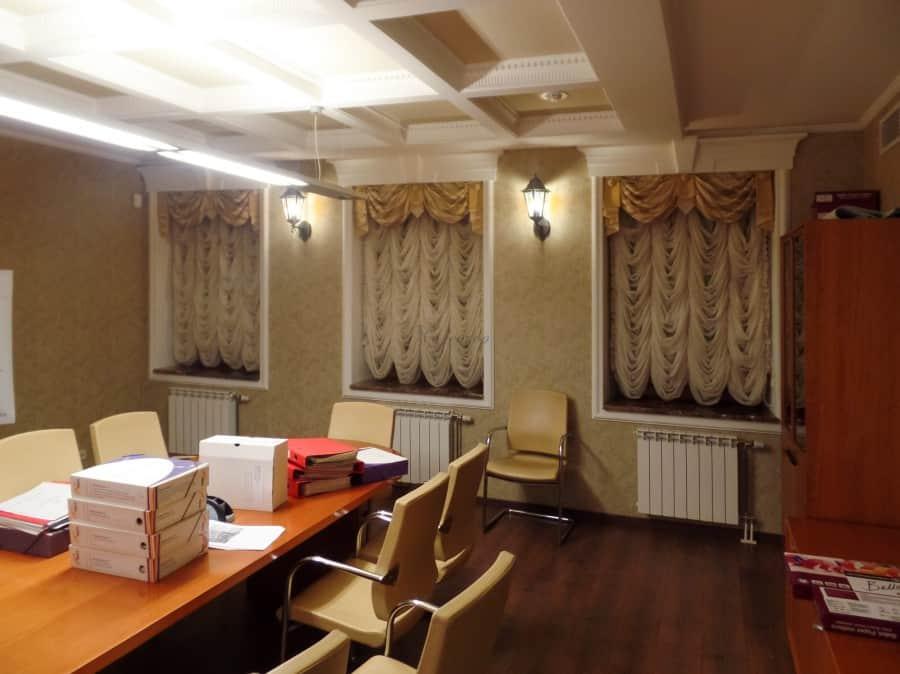 Фото штор 80: кабинеты, офисы, переговорные