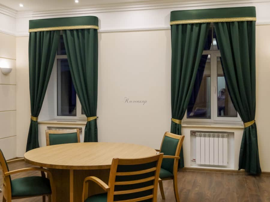 Фото штор 8: кабинеты, офисы, переговорные