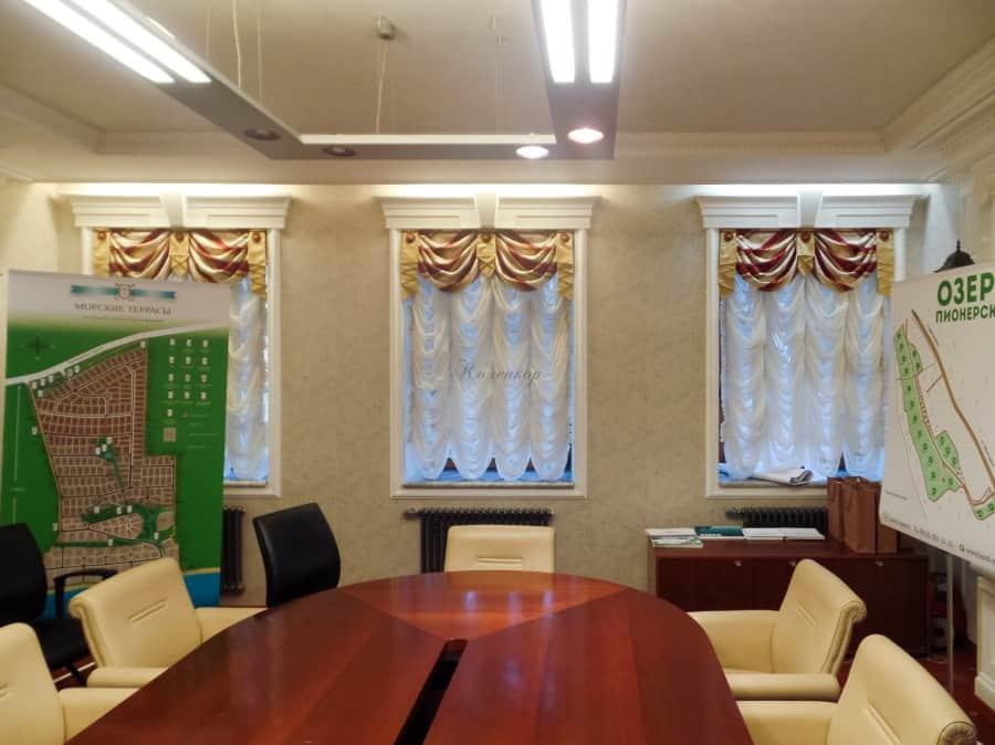Фото штор 82: кабинеты, офисы, переговорные