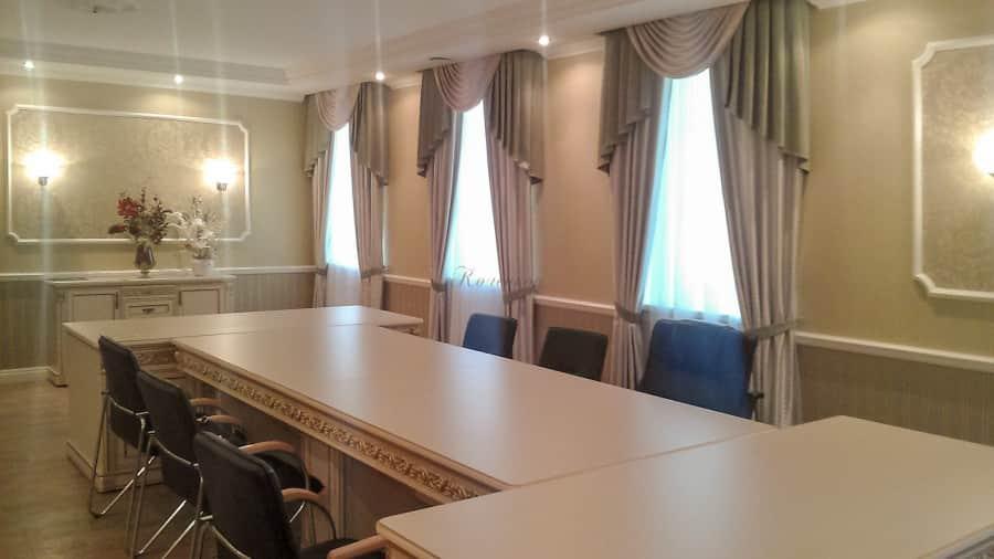 Фото штор 9: кабинеты, офисы, переговорные