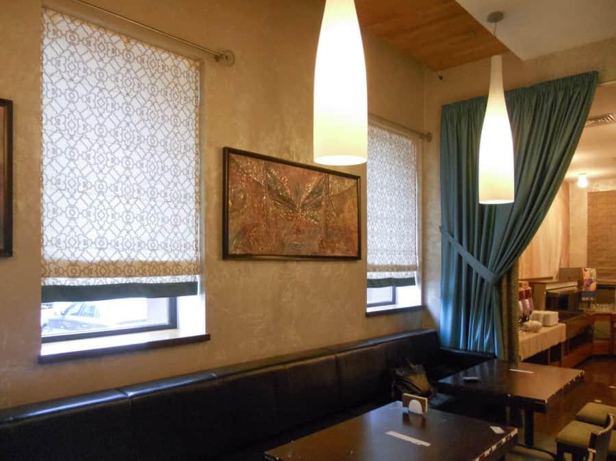Фото штор 74: рестораны, гостиницы