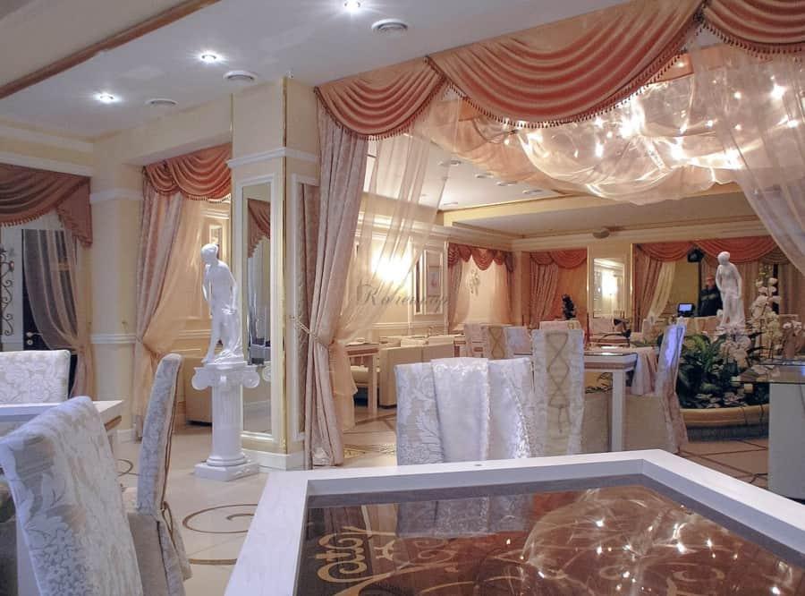 Фото штор 12: рестораны, гостиницы