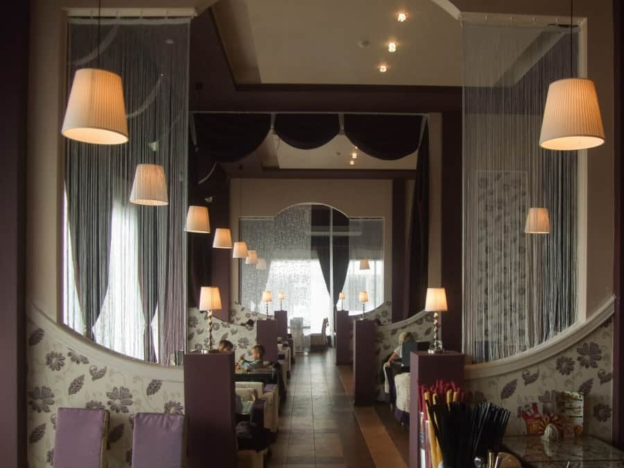 Фото штор 14: рестораны, гостиницы