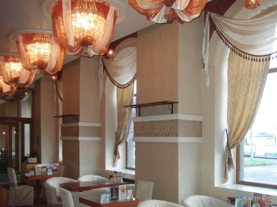 Фото штор 15: рестораны, гостиницы