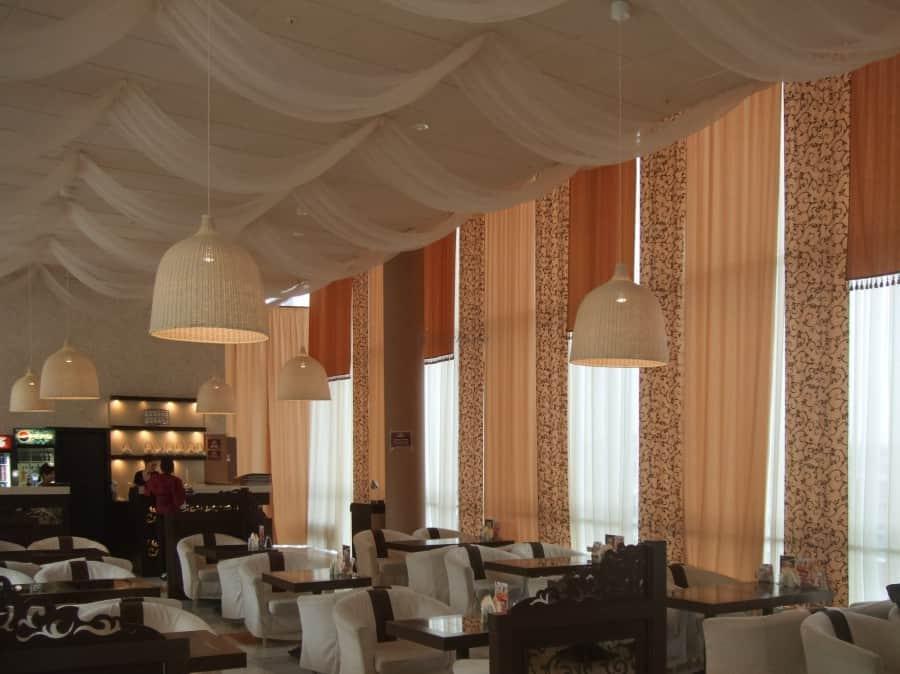 Фото штор 17: рестораны, гостиницы