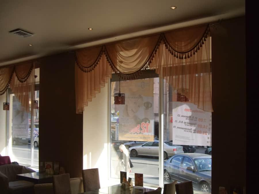 Фото штор 40: рестораны, гостиницы