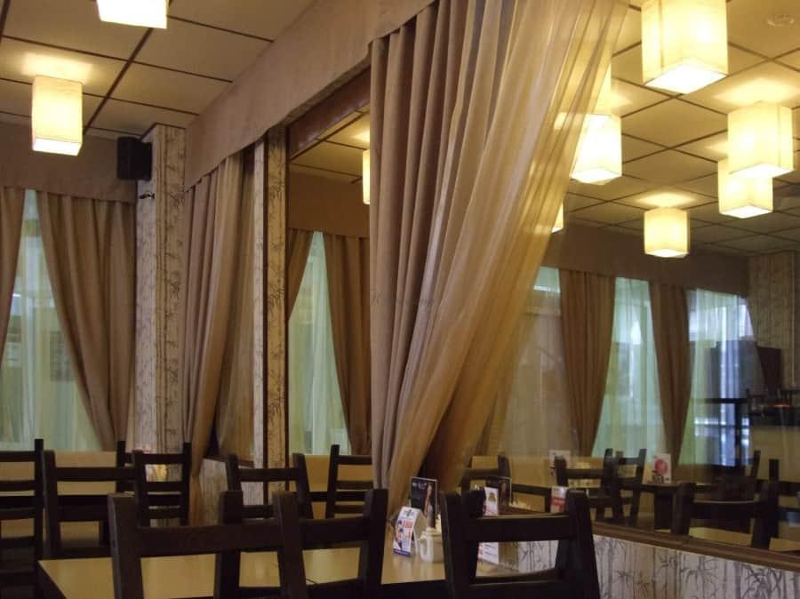 Фото штор 47: рестораны, гостиницы