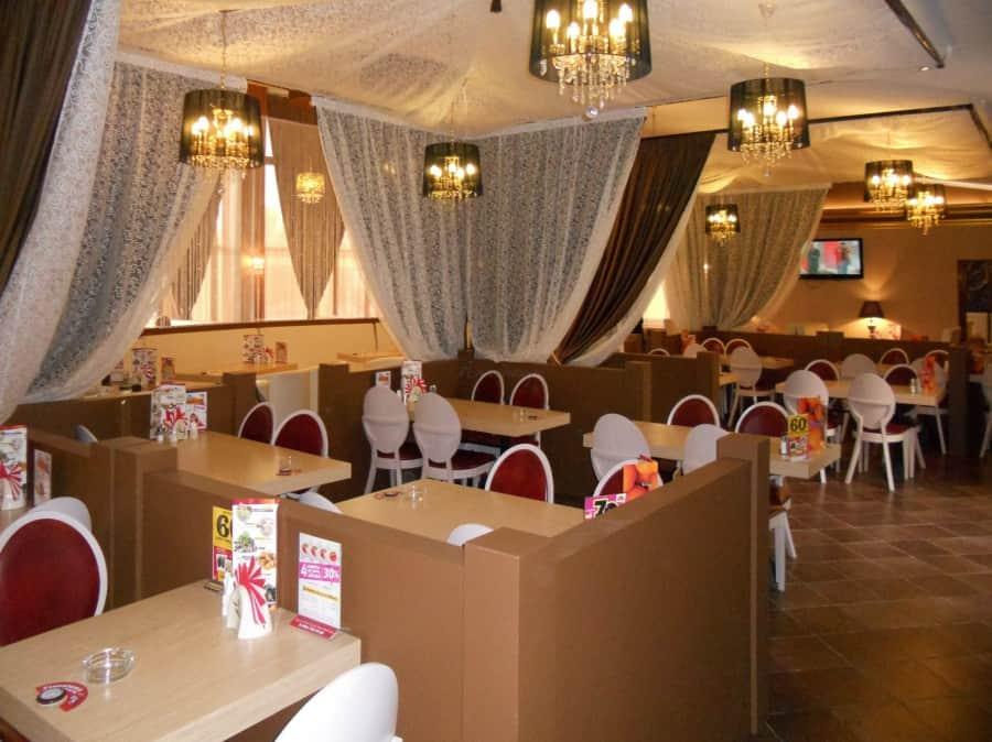 Фото штор 70: рестораны, гостиницы