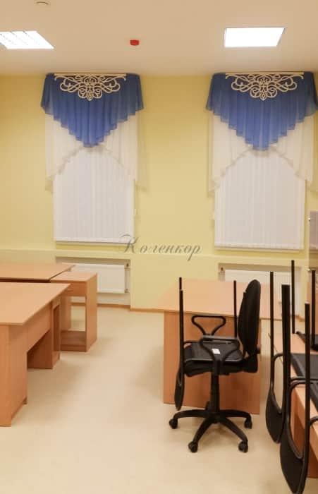 Фото штор 24: садики, Школы и др.