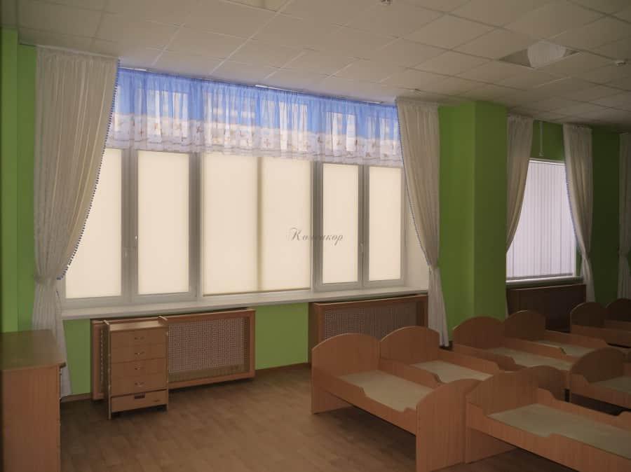 Фото штор 35: садики, Школы и др.