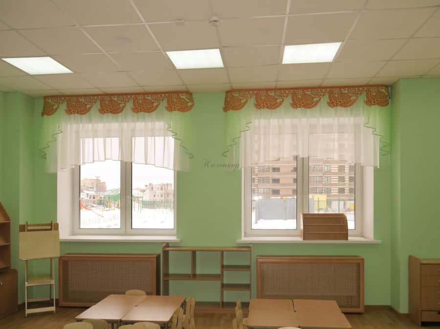 Фото штор 45: садики, Школы и др.