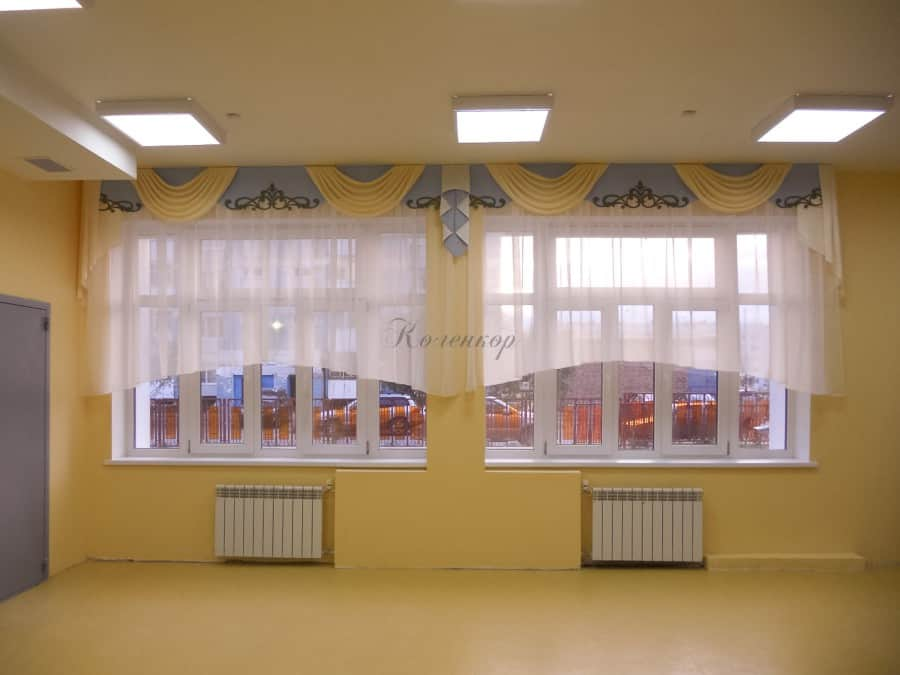 Фото штор 8: садики, Школы и др.