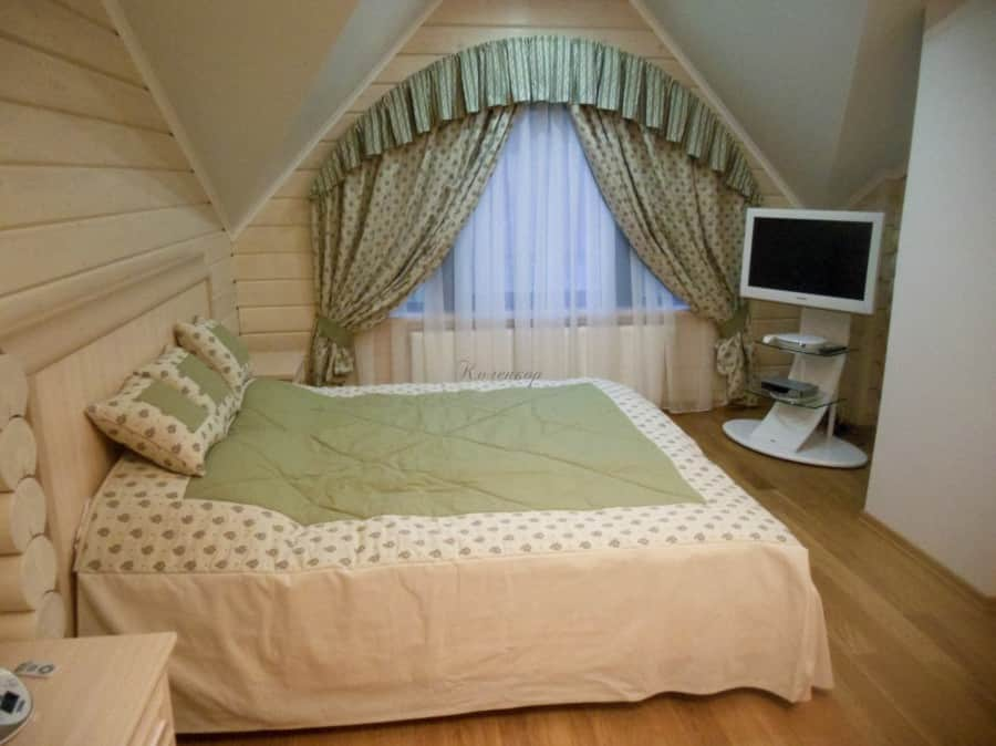 Фото штор 15: спальня