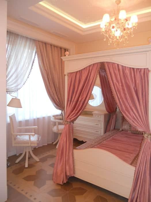 Фото штор 17: спальня