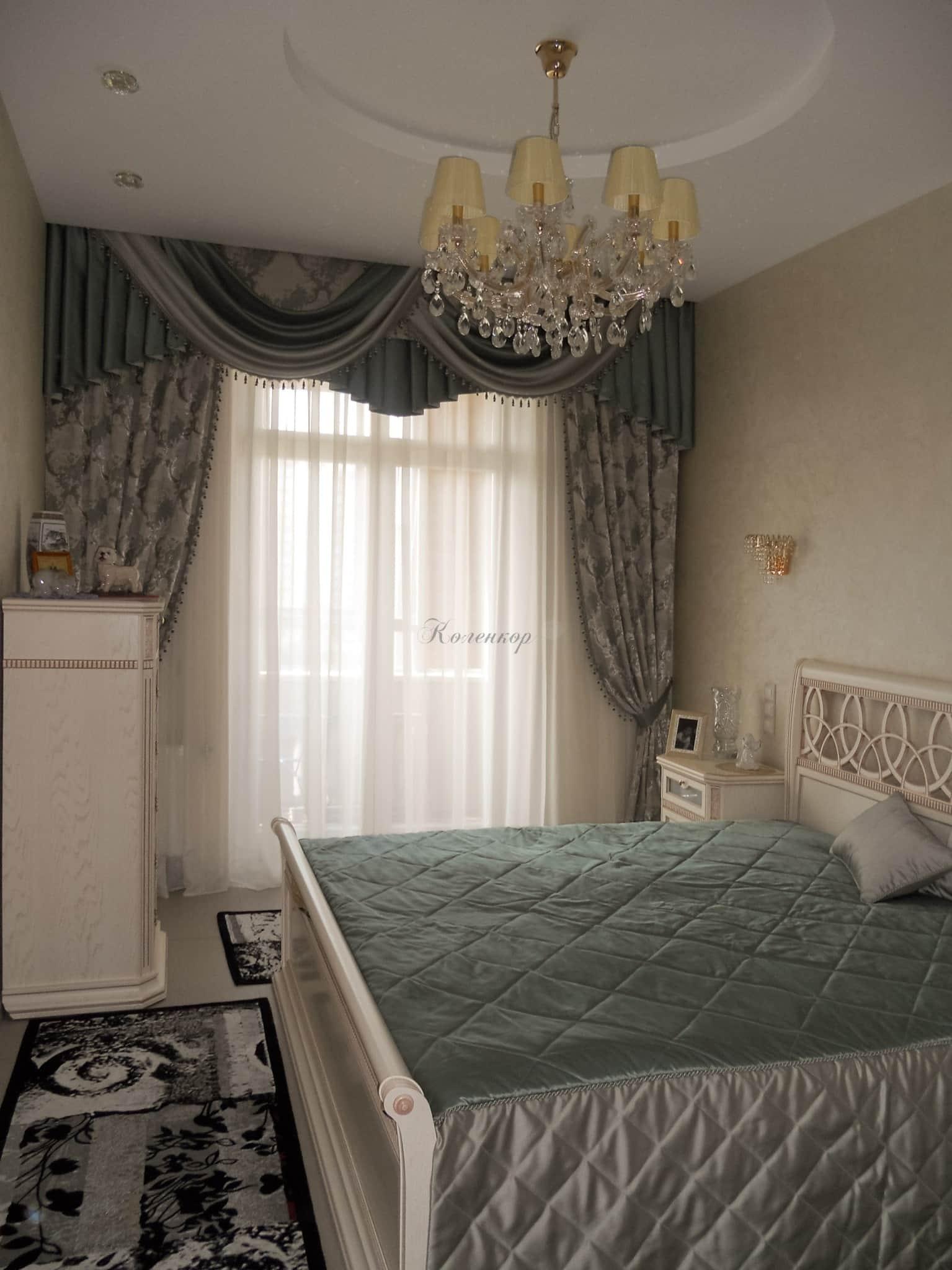 Готовые комплекты штор и покрывала на кровать
