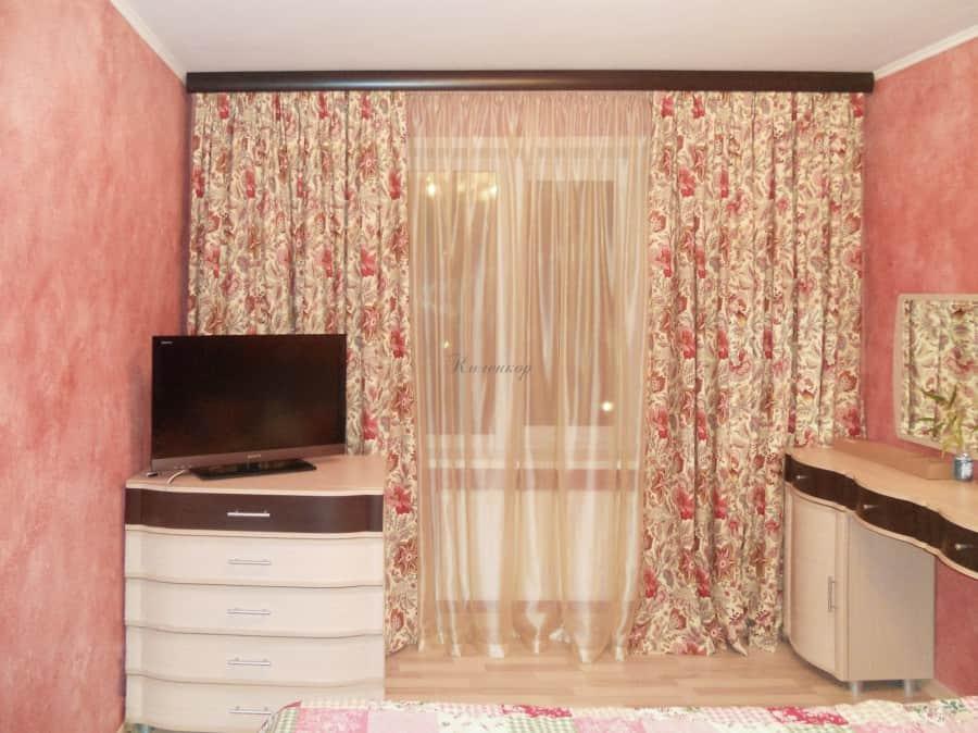 Фото штор 24: спальня